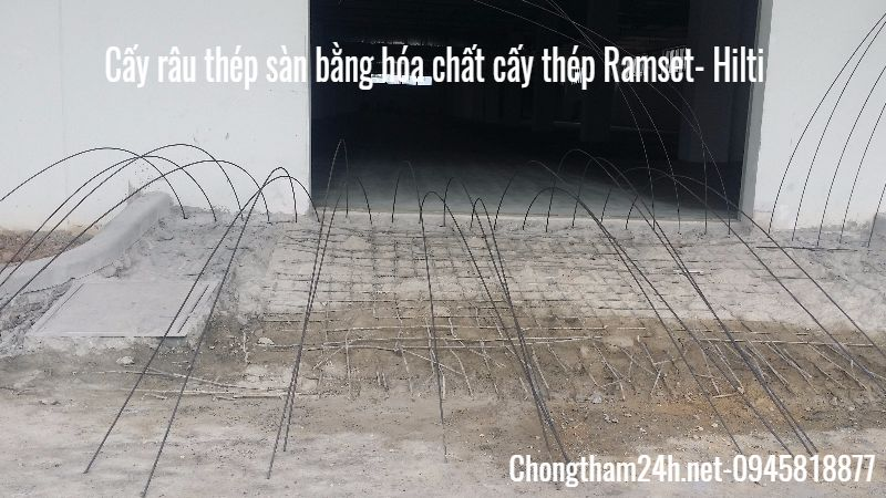cay rau thep san bang hoa chat ramset hilti