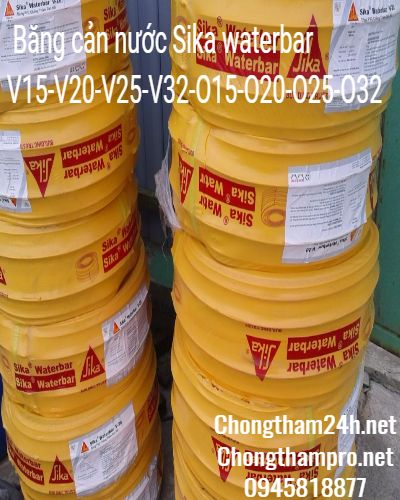 sika waterbar bang can nuoc pvc