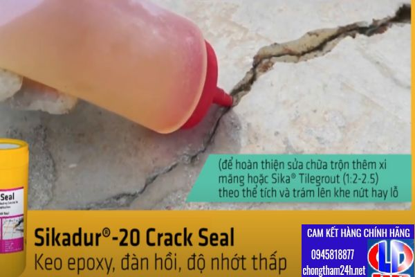 sikadur 20 crack seal xu ly nut 5