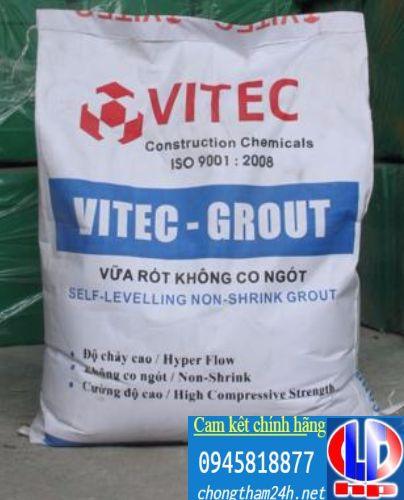 VITEC GROUT – vữa tự san phẳng không co ngót - Sika Vật liệu chống