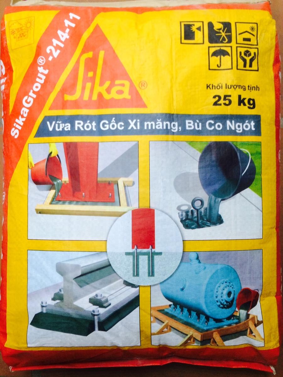 Sika Grout 214-11 - Sika Vật liệu chống thấmUy tín - Giá rẻ